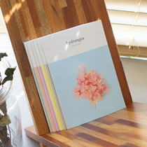 Preserved flower eco-friendly 1 month diary