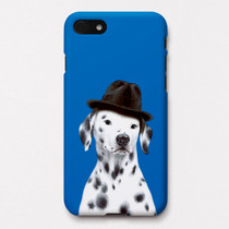 Dalmatian Paul polycarbonate iPhone case