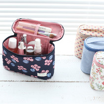 Warm breeze standing makeup pouch bag