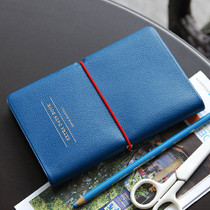 Navy blue - Extra days undated diary notebook