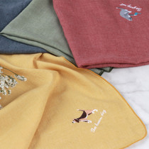 Tailorbird animal hankie handkerchief