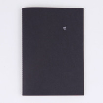 Night sewn bound A5 lined notebook