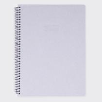 Mellow gray spiral lined notebook