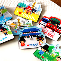 Seoul Korea travel magnet