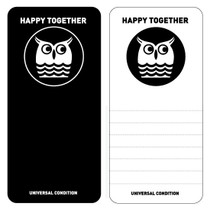 Happy together owl long message card