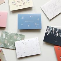 Present your heart folding photo album card