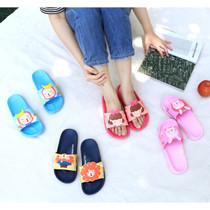 Hellogeeks petite PVC slide sandal