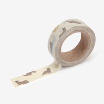 "Deco 0.59""X11yd masking tape single - Otter"