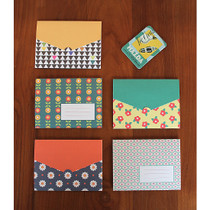 Northern Europe pattern small card set