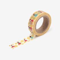 "Deco 0.59""X11yd masking tape single - Hula"