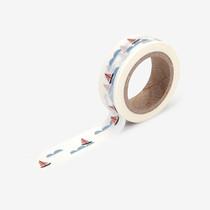 "Deco 0.59""X11yd masking tape single - Boat"