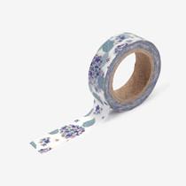 "Deco 0.59""X11yd masking tape single - Hydrangea"