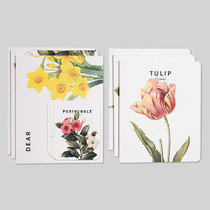 Flower illustration card set ver.5