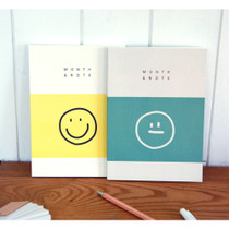 Smile undated monthly planer notebook