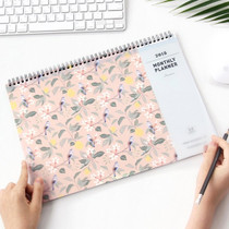 2018 Comely desk dated monthly planner scheduler