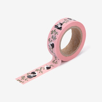 "Deco 0.59""X11yd single masking tape - Panda"