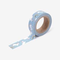"""Deco 0.59""""X11yd single masking tape - Unicorn"""