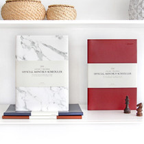 2018 The Basic official large dated monthly planner