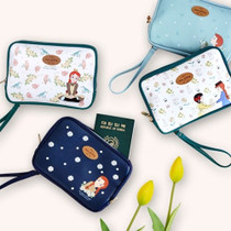 Anne of green gables travel pouch bag with strap