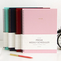 Prism spiral undated weekly scheduler