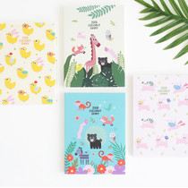 2018 Coconut small dated weekly diary scheduler