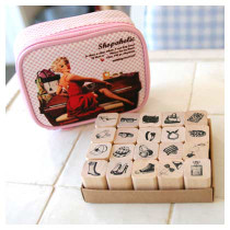Shopaholic stamp set