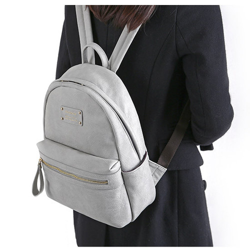 Monopoly Wanna be professional leather small backpack - fallindesign