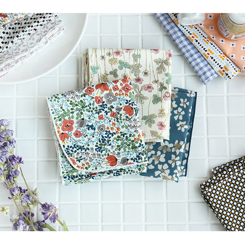 Pattern heimish cotton handkerchief hankie