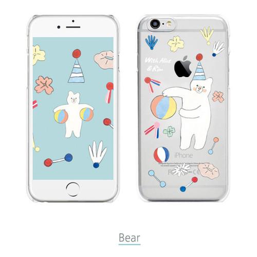 With alice rim tpu soft iphone 6 6s smartphone case - Porta server alice iphone ...