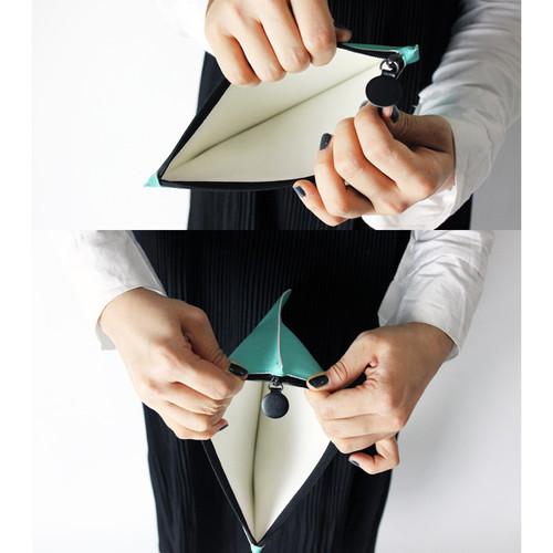 Fenice Seamless Fabric Zipper Multi Pouch Fallindesign