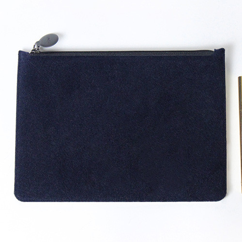 Fenice Seamless Wool Zipper Multi Pouch Fallindesign