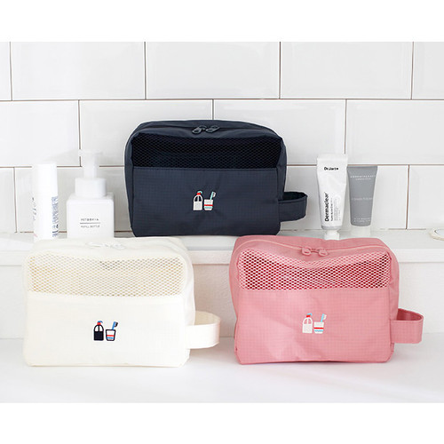 toiletry bag travel toiletry bag and toothbrush pouch set