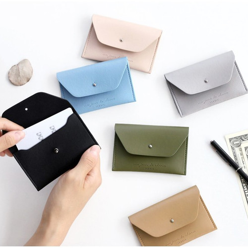 Un jour de chance slim card case holder