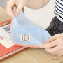 Light blue - Cotton dear handkerchief hankie