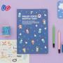 Navy - 2015 Ardium Hello coco monthly dated diary