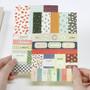 Petit deco paper sticker set 8 sheets ver.5