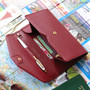 Burgundy - Start of travel clutch organizer