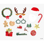 Front - Dailylike Christmas photo stick props set