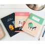 Lined note set - Indigo Monster illustration 3 notebook set
