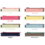 Color of Smiley pen case with elastic band holder
