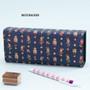 Nutcracker - Pattern square pencil case box ver2