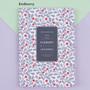 Redberry - 2018 Flower pattern dated weekly journal scheduler