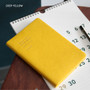 Deep yellow - 2018 Notable memory slim small dated weekly planner
