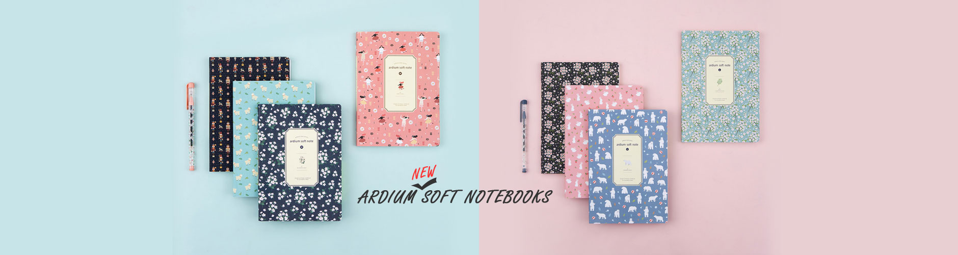 fallindesign ardium soft notebooks