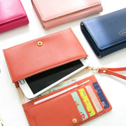 Iconic smartphone pouch wallet