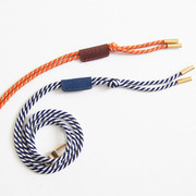Adjustment cross string neck strap