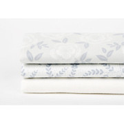 Quarter fabric pack of 3 cotton - Snowflower