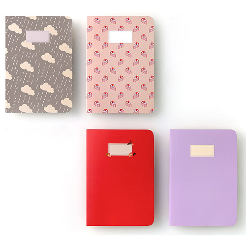 Monopoly Toffeenut Lined School Notebook Small Fallindesign