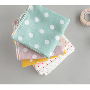 Dot pattern cotton handkerchief hankie