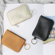 The classique key ring coin case wallet
